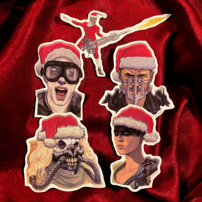"Xmas with MAD MAX: FURY ROAD! ""OH, What a Holiday, What a Lovely Holiday! PLUS 5 Ornaments!"