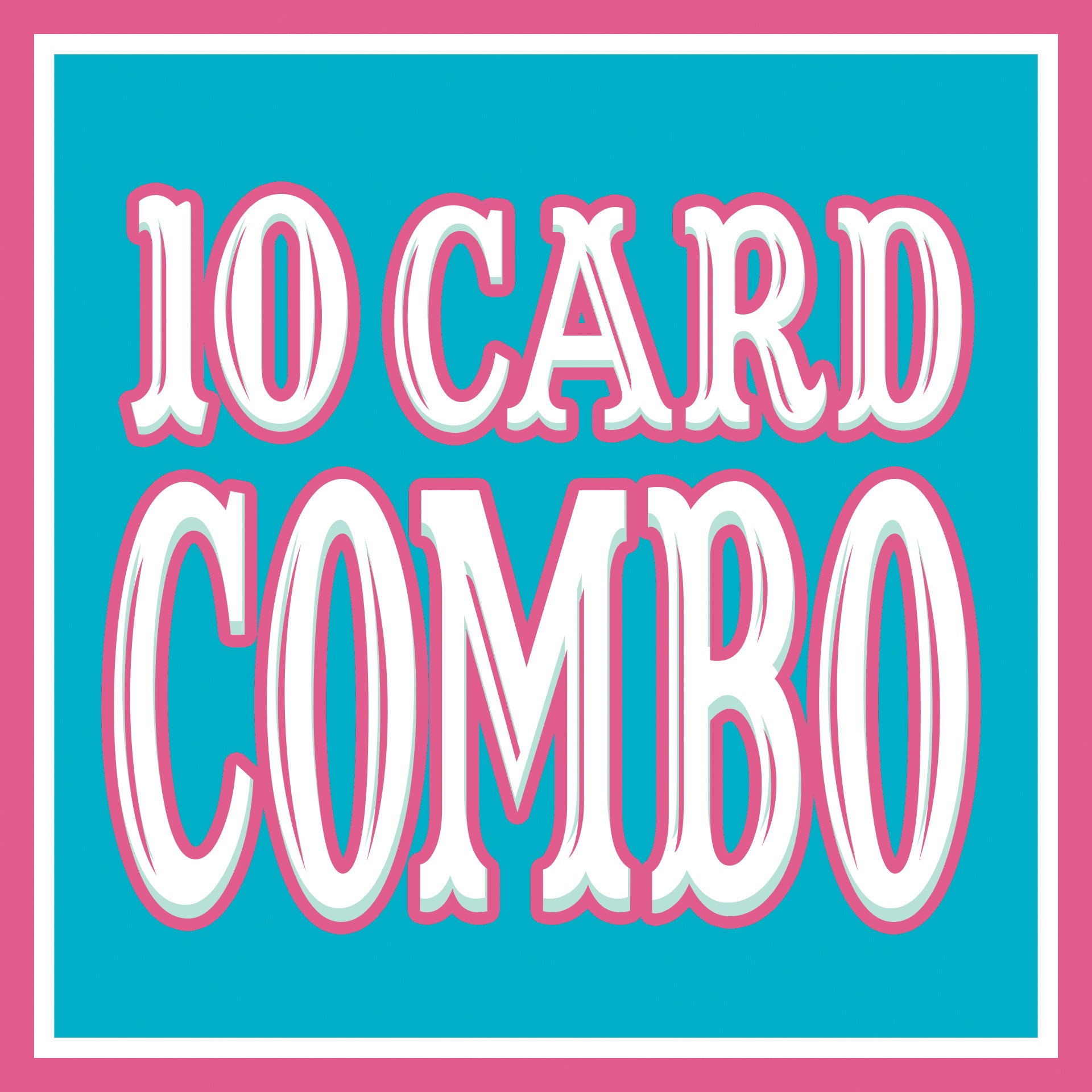 Any 10 CARDS Discount COMBO!
