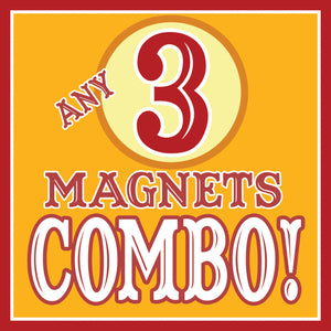 ANY 3 Magnets Discount COMBO!