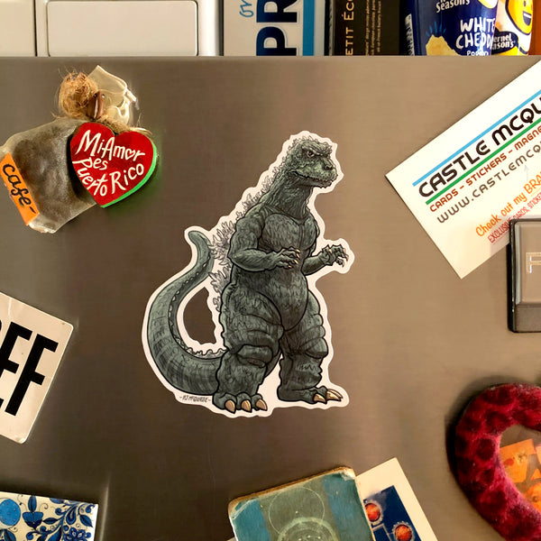 GODZILLA Full Fridge MAGNET