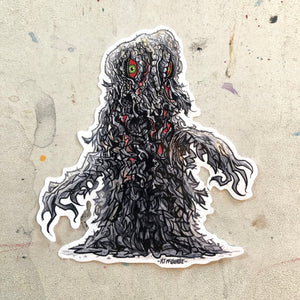 HEDORAH The Smog Monster Godzilla Waterproof STICKER