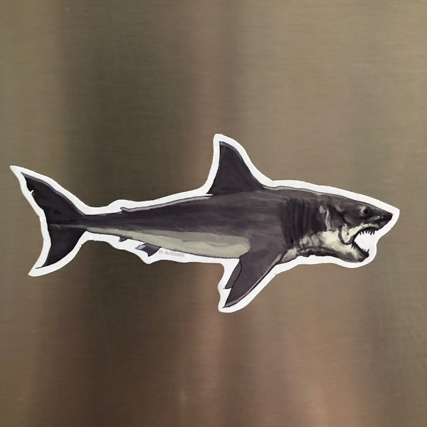 JAWS Shark FRIDGE MAGNET!