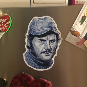 Quint Blue JAWS FRIDGE MAGNET!