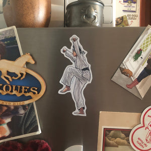 The KARATE KID Daniel LaRusso Fridge MAGNET!