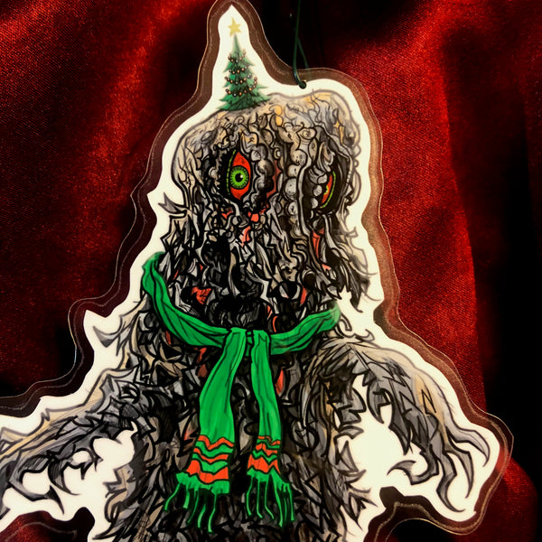The Smog Monster GODZILLA Christmas Ornament!