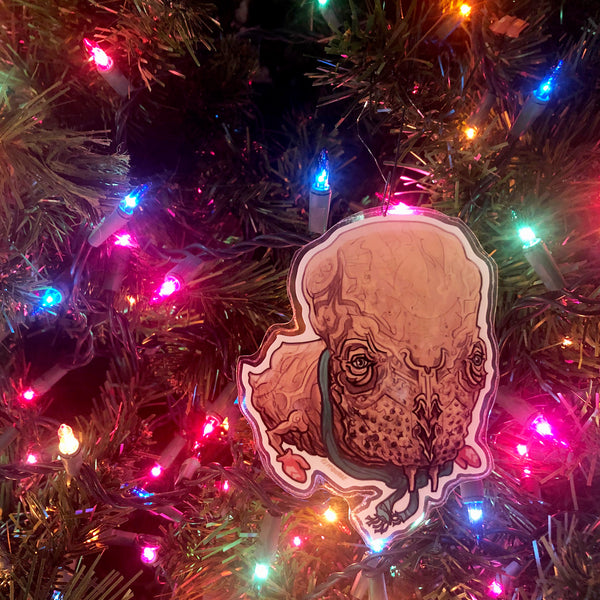 Guild Navigator DUNE Christmas Ornament