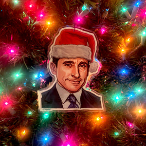 Michael Scott THE OFFICE Christmas Ornament!