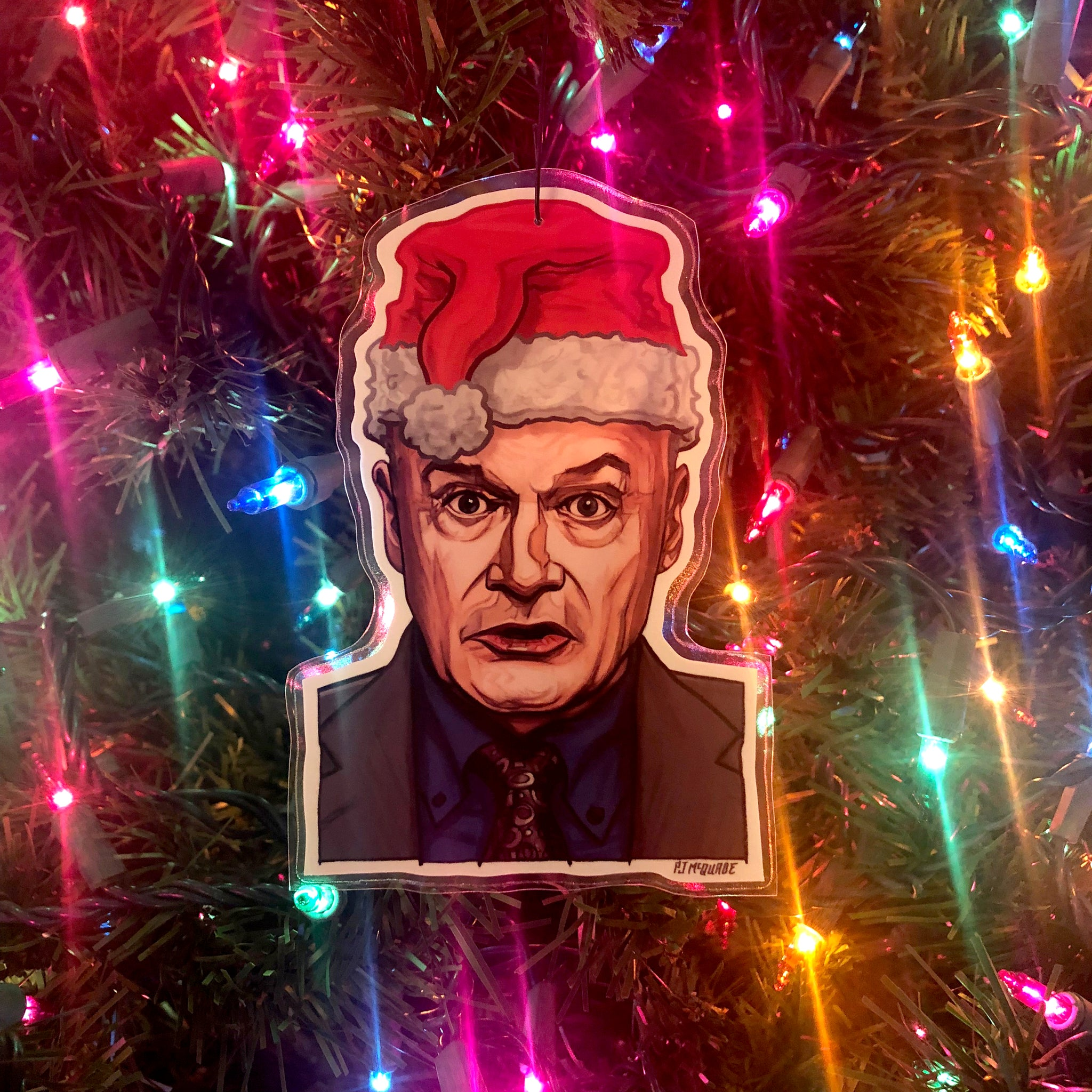 Creed THE OFFICE Christmas Ornament!