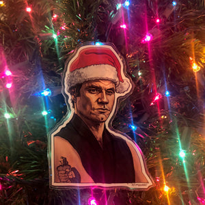 Sensei Kreese KARATE KID Christmas Ornament!