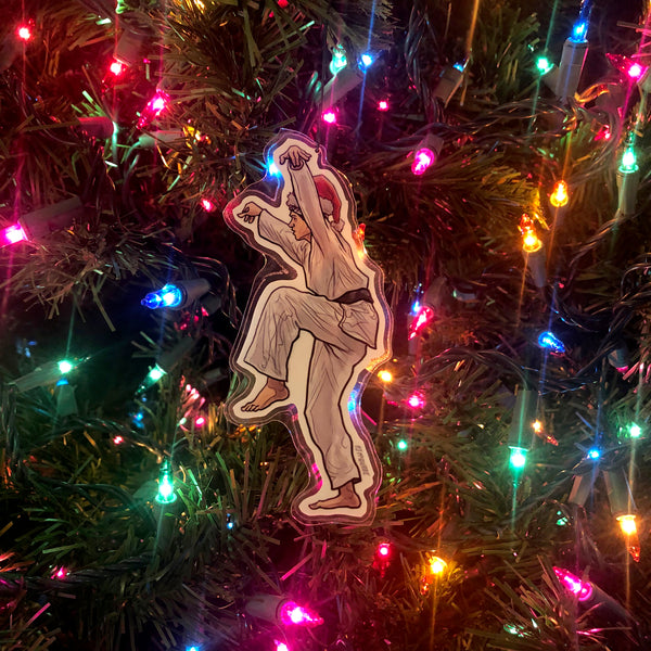 Daniel LaRusso The KARATE KID Christmas Ornament!
