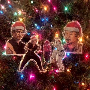 KARATE KID Christmas Ornament 5 Pack COMBO!