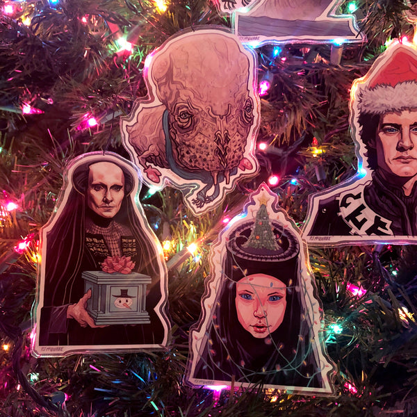 DUNE Christmas Ornaments 8 PACK SET! Free DUNE Xmas Card with Every Set