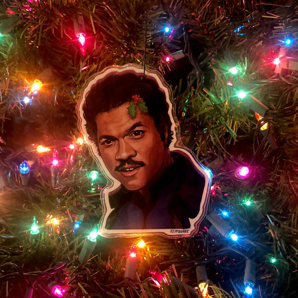 Lando Calrissian STAR WARS Christmas Ornament!