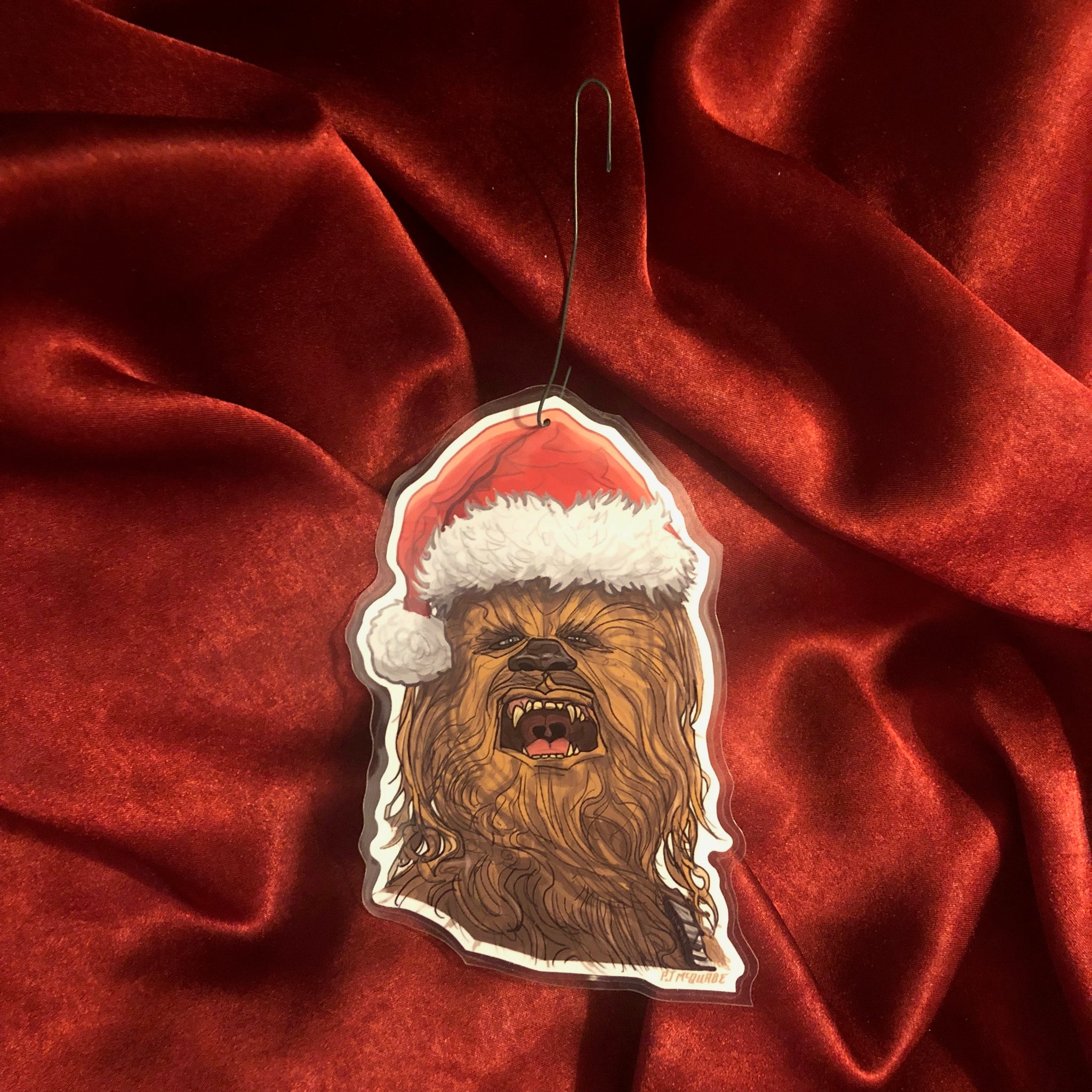 CHEWBACCA Star Wars Christmas ORNAMENT!