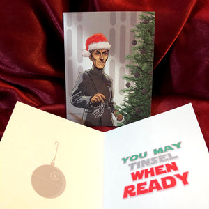GRAND MOFF TARKIN Star Wars Christmas Card!