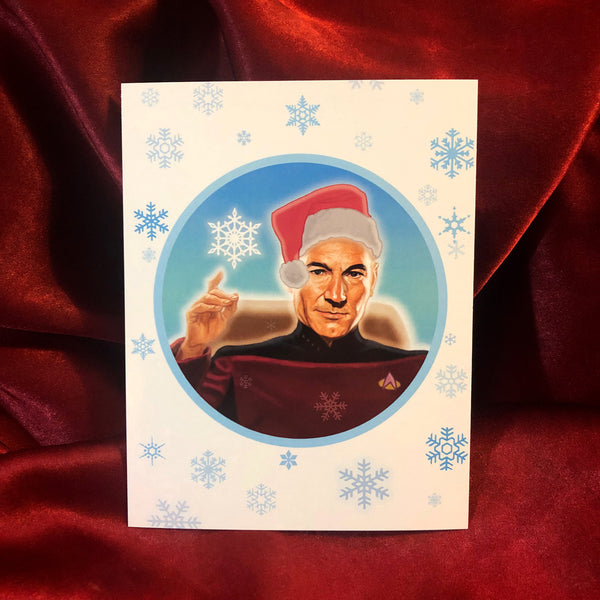 PICARD Star Trek Christmas Card!