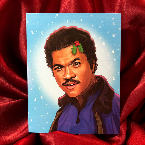 Lando Calrissian STAR WARS Christmas Card!