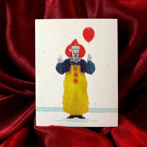 PENNYWISE IT 1990 Christmas CARD!
