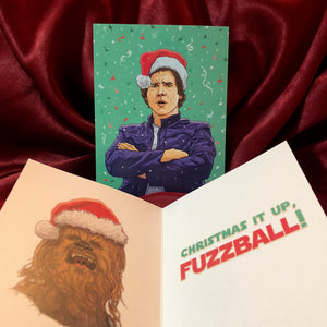 HAN SOLO Star Wars Christmas CARD!