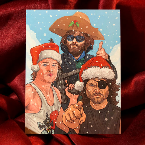 KURT RUSSELL Christmas Card!