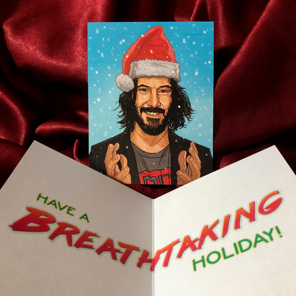 KEANU REEVES Christmas Card!