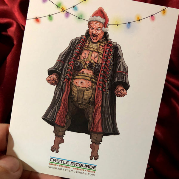 10 PACK Dune CHRISTMAS CARDS!
