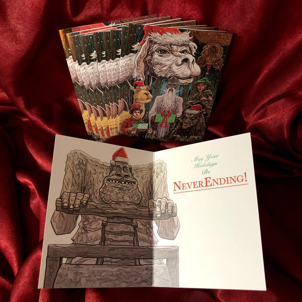 10 PACK - The NEVERENDING STORY Christmas Card!