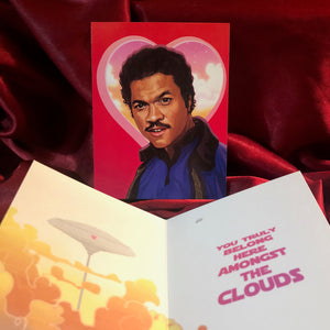 Lando Calrissian STAR WARS Valentine's Day Card!