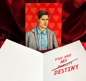 George McFly BACK to the FUTURE Valentine's Day Card!
