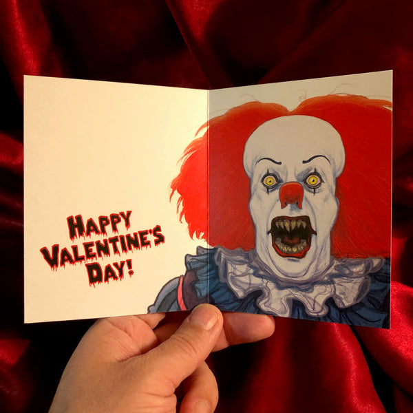 Pennywise VALENTINE'S DAY Card!