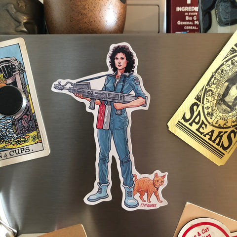 Ripley ALIEN Fridge Magnet!