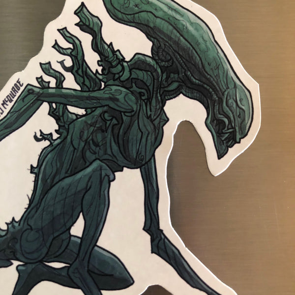 XENOMORPH ALIEN FRIDGE MAGNET!