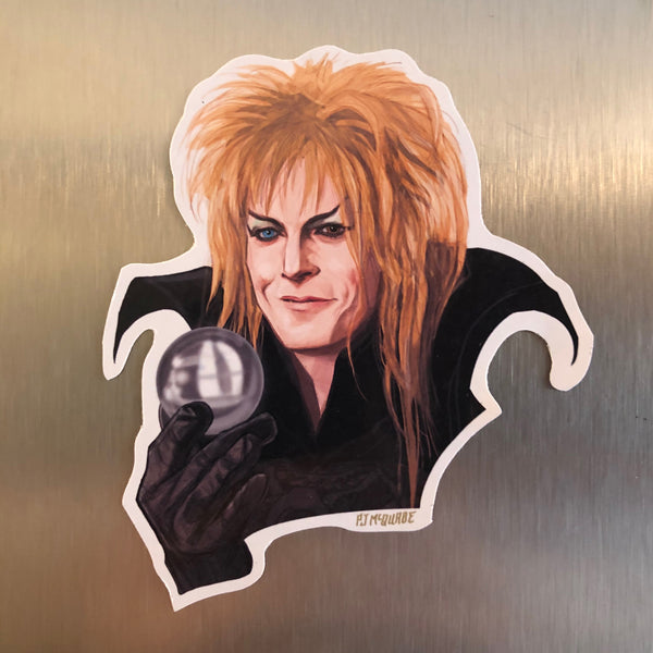 Jareth LABYRINTH Fridge Magnet!