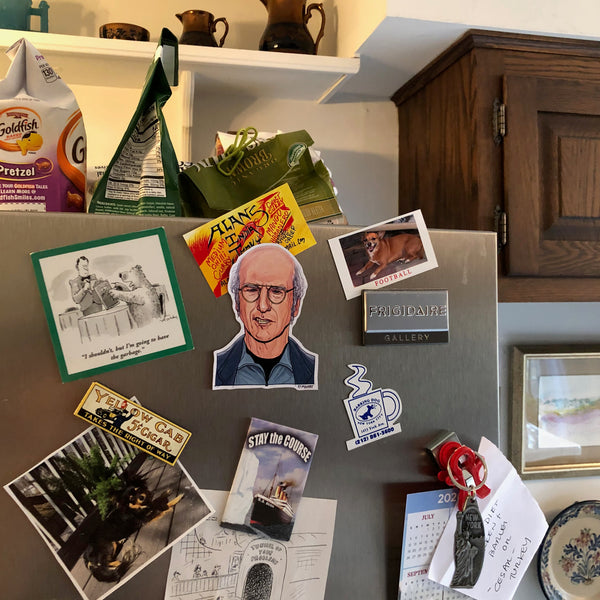 LARRY DAVID Fridge MAGNET!