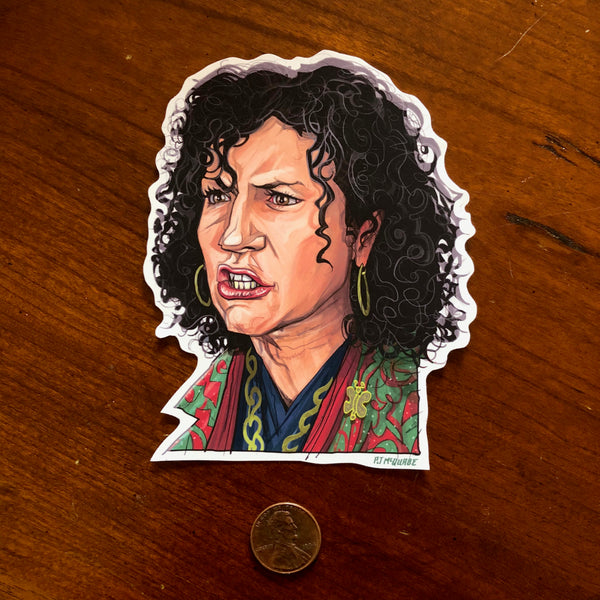 SUSIE Curb Your Enthusiasm Waterproof STICKER!