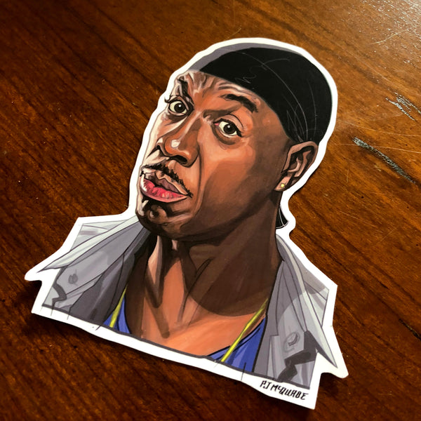 LEON Curb Your Enthusiasm Waterproof STICKER!