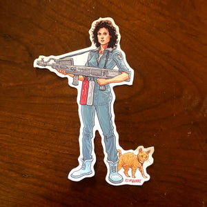Ripley ALIEN Waterproof STICKER!