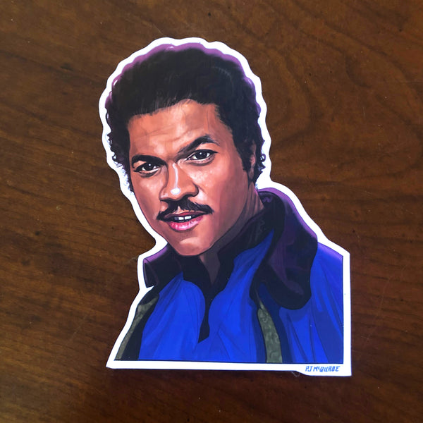 Lando Calrissian STAR WARS STICKER!