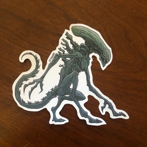 Xenomorph ALIEN STICKER!