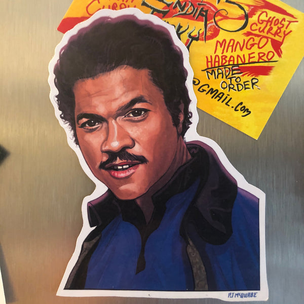 Lando Calrissian STAR WARS FRIDGE MAGNET!