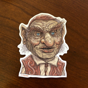 Hoggle LABYRINTH Waterproof Sticker!