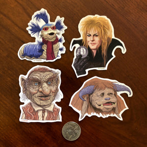 LITTLE Labyrinth STICKERS 4 Pack SET!