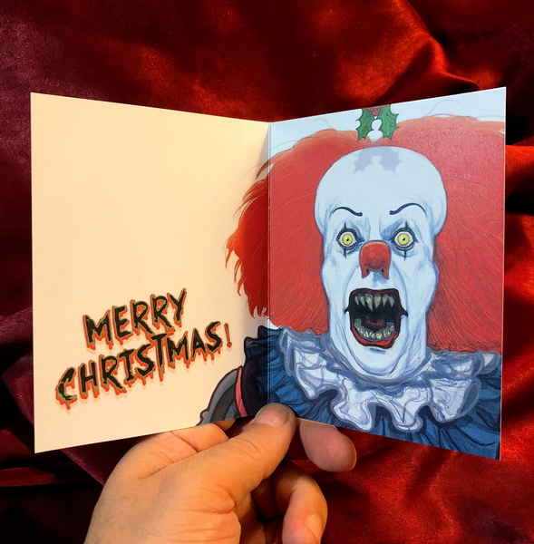 PENNYWISE Christmas Card COMBO!