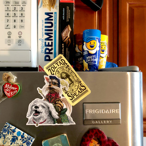 Sir Didymus LABYRINTH Fridge Magnet