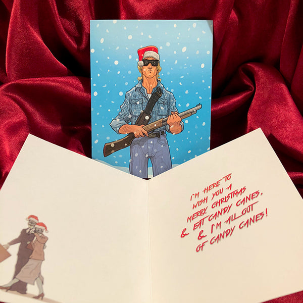 THEY LIVE Christmas Card