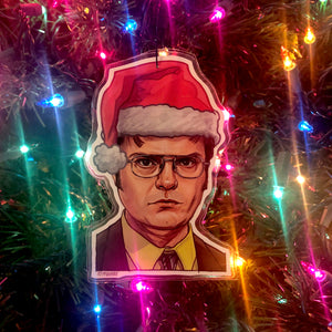 Dwight THE OFFICE Christmas Ornament!
