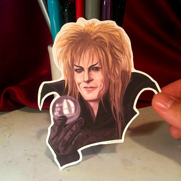 Jareth LABYRINTH Waterproof STICKER!