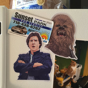 HAN/CHEWBACCA STAR WARS Fridge Magnet COMBO!