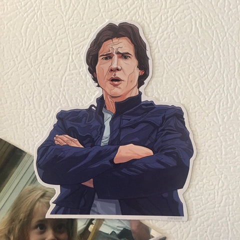 HAN SOLO Star Wars Fridge MAGNET!