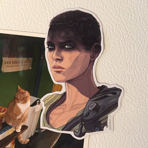 Furiosa MAD MAX: FURY ROAD FRIDGE MAGNET!
